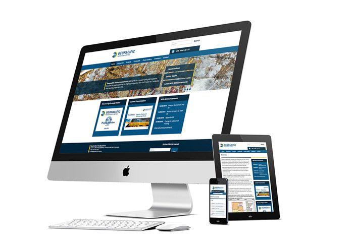 Geopacific Corporate WordPress Web Design Perth