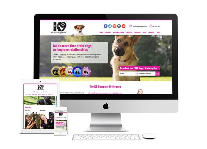 K9 Company WordPress Website