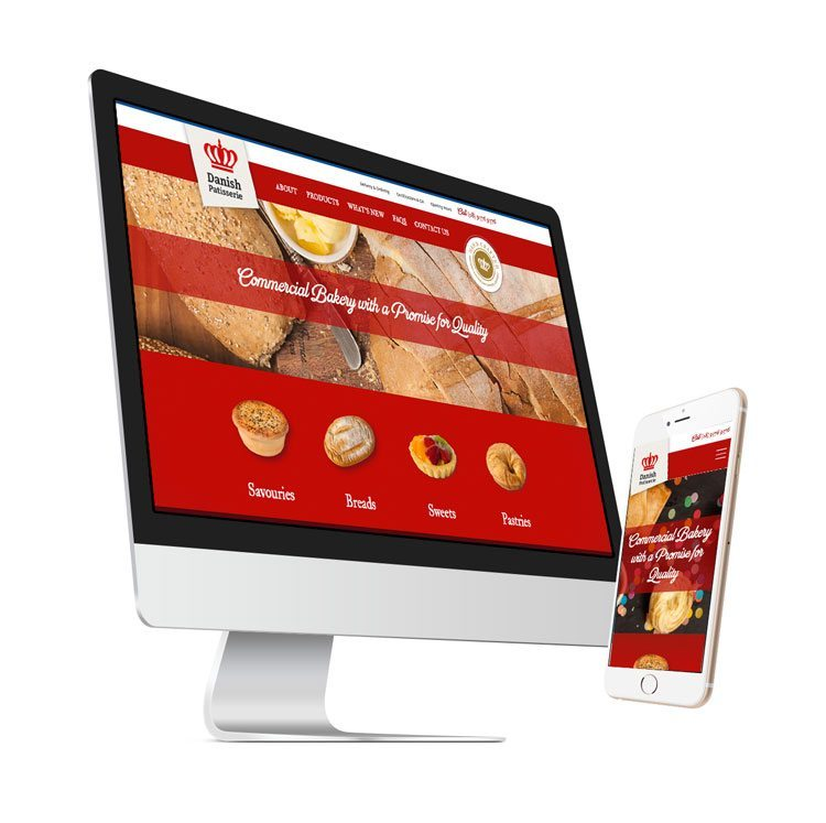 Danish Patisserie WordPress Website