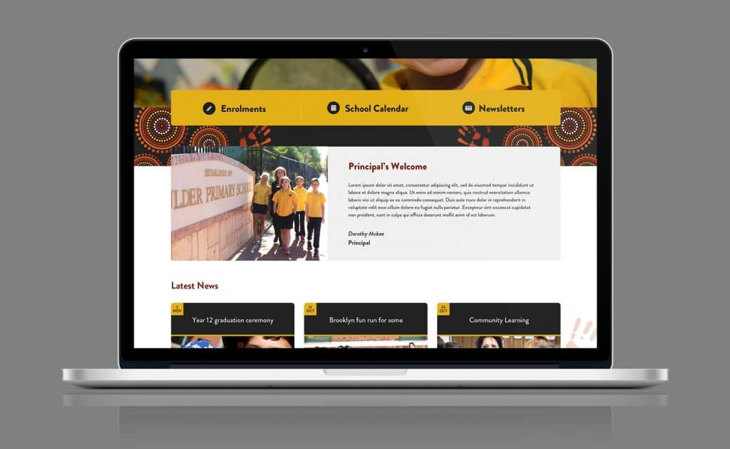 School Web Design Perth