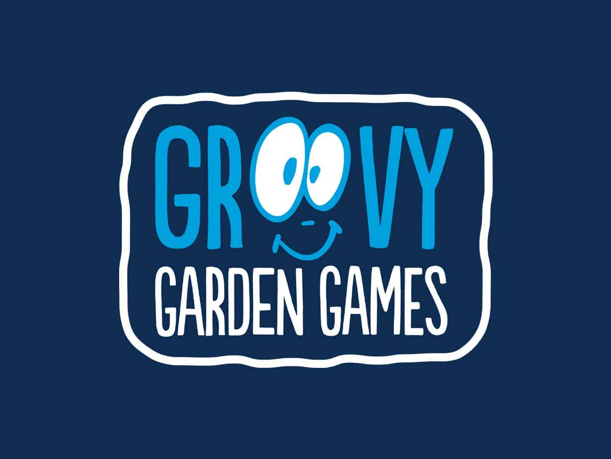 Groovy Garden Games Logo Design Perth