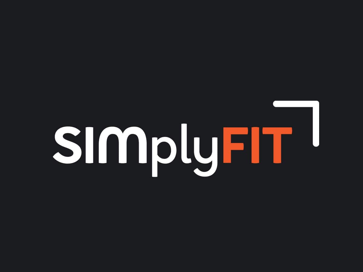 SIMplyFIT Logo Design Perth