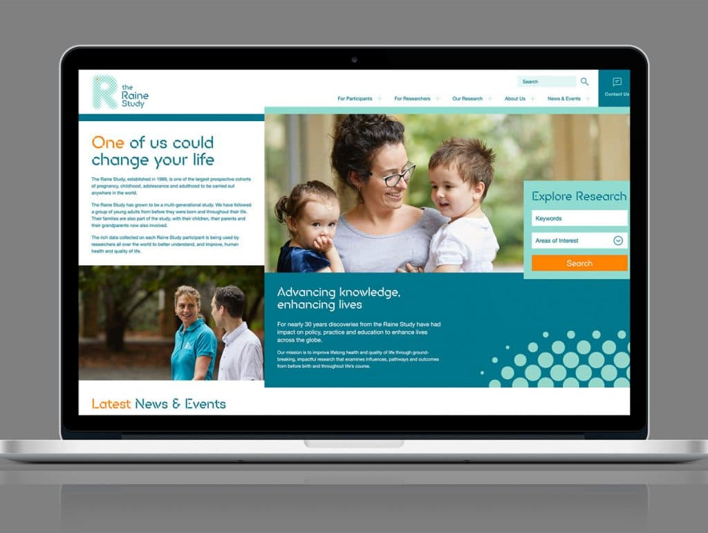 The Raine Study | Web Design & Digital Agency Perth