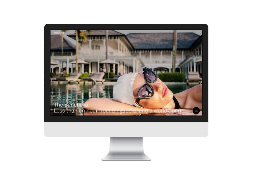 Sanchaya Website Design